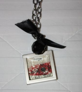 FC charm necklace