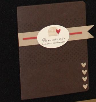 Chocolate set card 8
