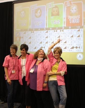 Shelli's winning score