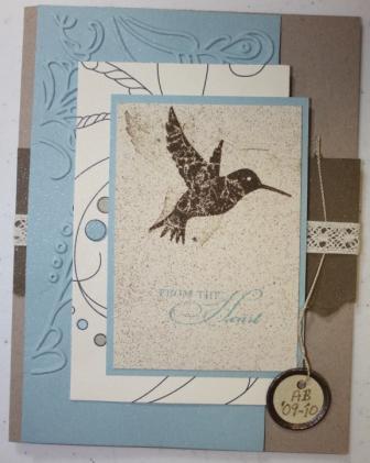 Shelli's card