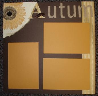 Autumn - page one layout