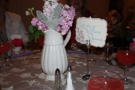 Center pieces welcome dinner