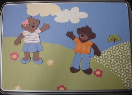 Build a Bear Magnetic Paper Dolls