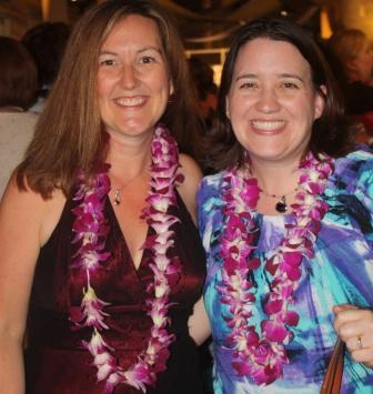 Meg and Julie