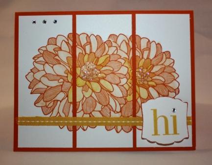 Dahlia 2 card