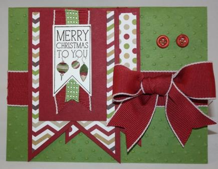 Bow Christmas Card