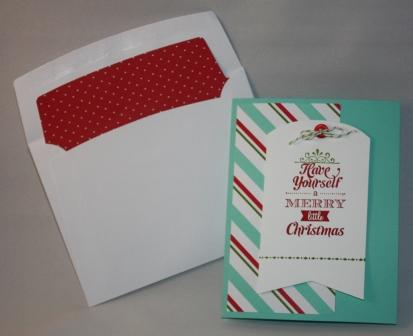 Merry Little Christmas bundle card