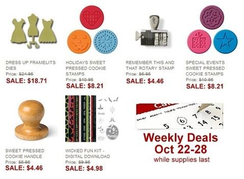 Weekly deals Oct 22-28