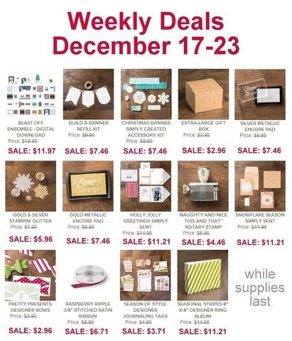 Weekly Deals Dec 17