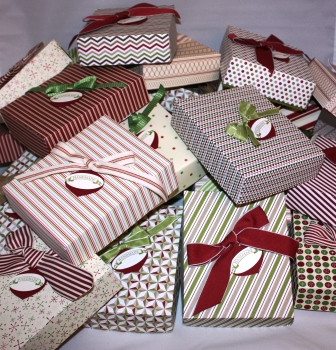 Christmas - Card Boxes