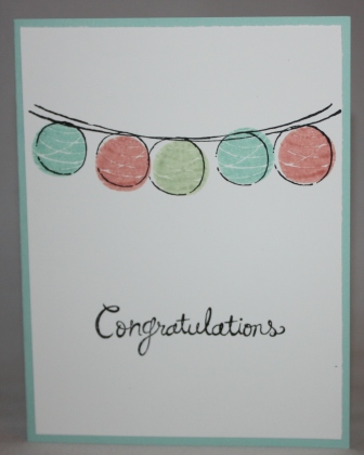 Happy congratulations card - simple