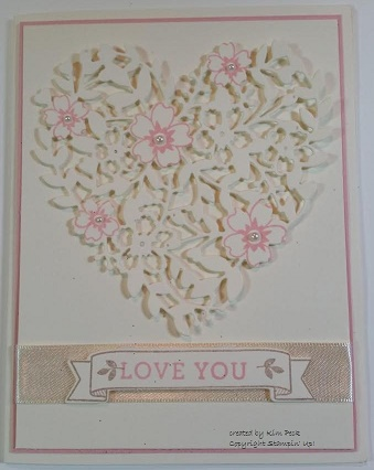 Heart framelit - love card - ivorybase