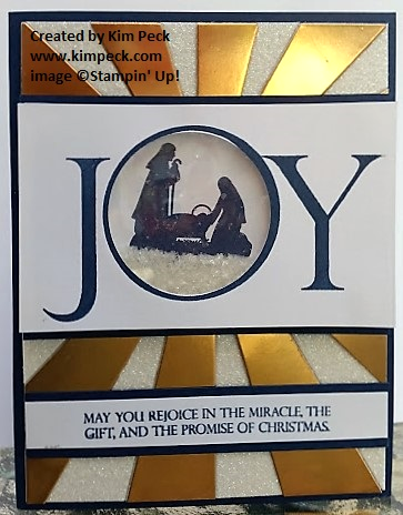 Sunburst Joy Card