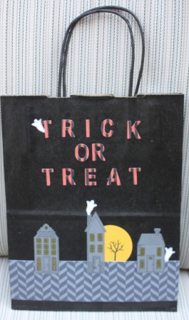 House trick or treat bag