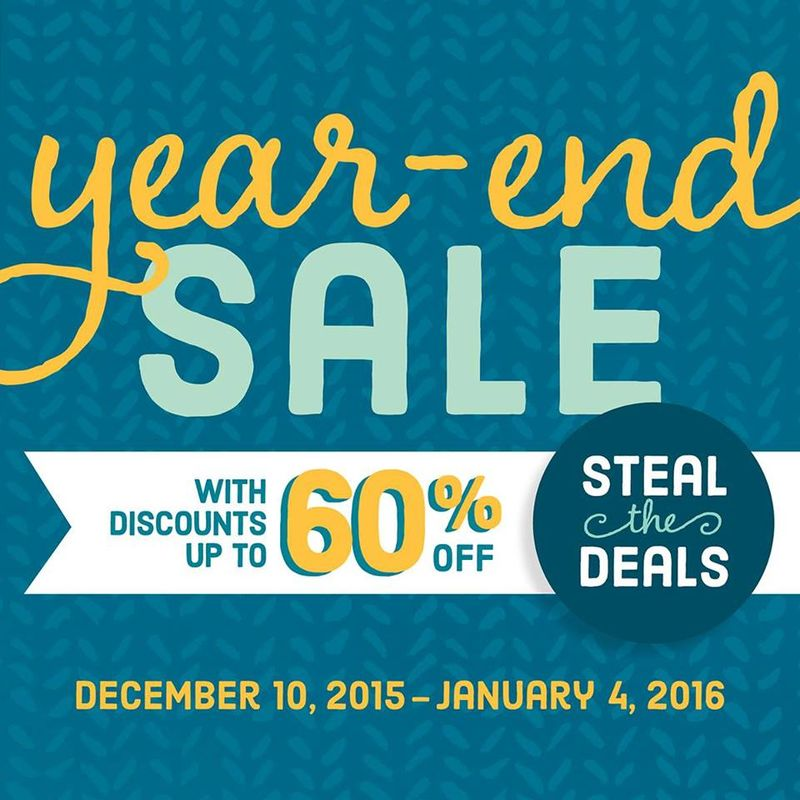 Steal the Deal year end sale