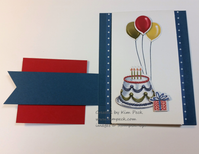 Birthday Friends 3 d card