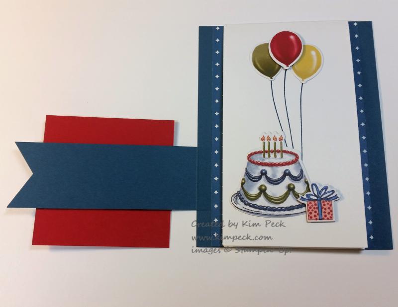 Birthday Friends 3 d card