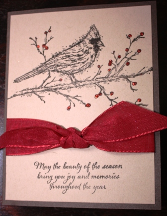 Cardinal - Beauty of the Season card