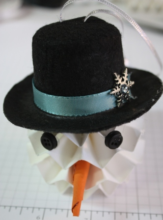 Completed snowman
