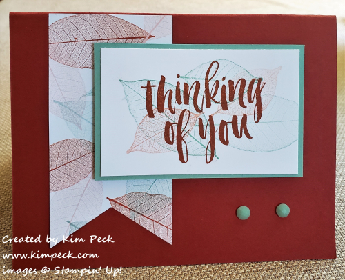 Cajun craze thinking of you card