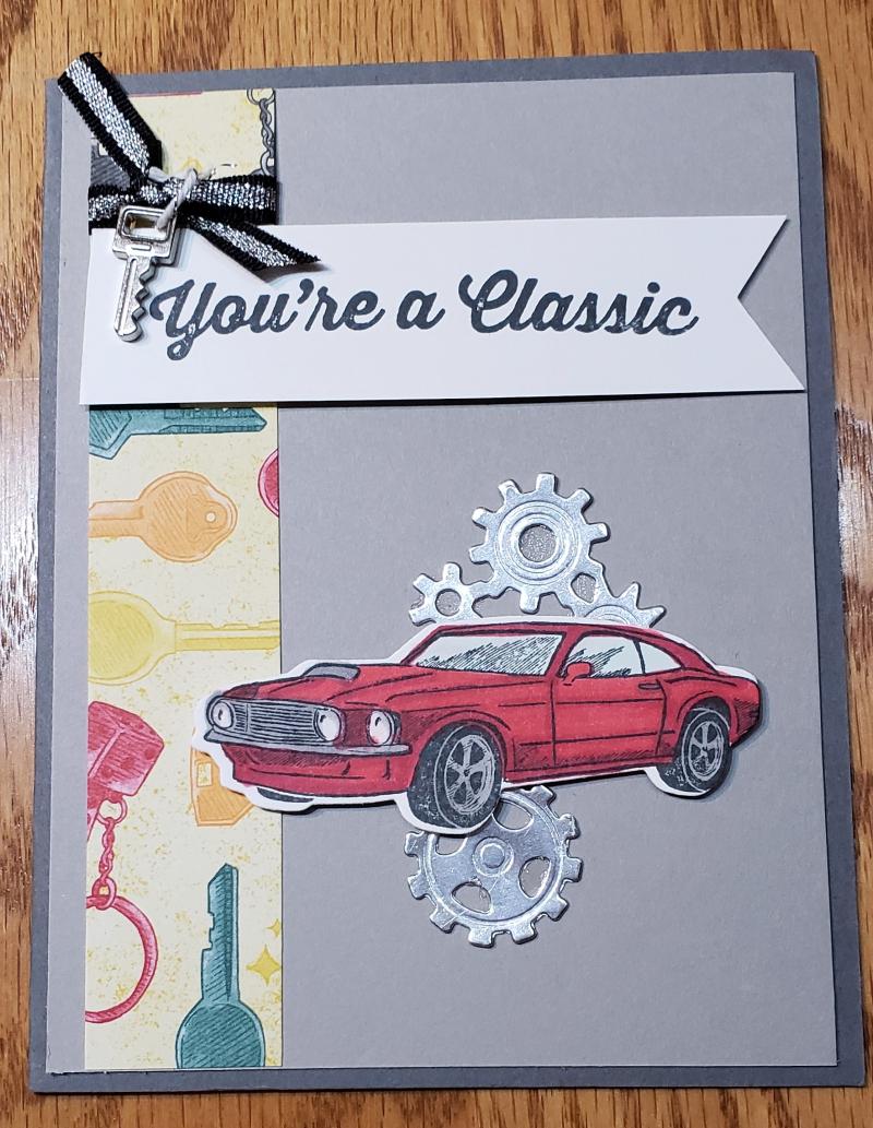 You're a classic (car card)