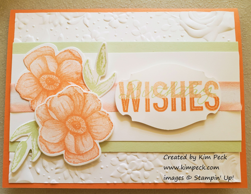 Sale a bration card - painted seasons