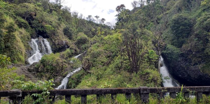 Waterfalls on rd to Hana